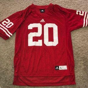 Wisconsin football jersey boys size 14
